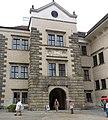Telč Schloss - Fassade 1.jpg