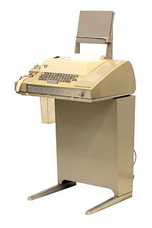 Teletype Model 33 1963—1981 ASCII communications / computer terminal device