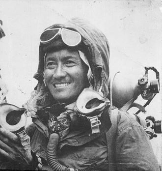 Khumbu - Tenzing Norgay, 1953 who was born in Khumbu region of Solukhumbu District