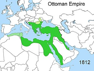 Near East - The Near East as defined as the Ottoman Empire at the beginning of the Eastern Question