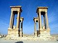 Tetrapylon Palmyra in Syria 001.JPG