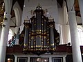 Texel - Den Burg - Hervormde Kerk - View West on Organ 1818 by Johann Michael Gerstenhauer.jpg