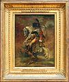 Théodore géricault, ufficiale della guardia imperiale a cavallo alla carica, 1811-12, primo schizzo.jpg