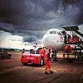 Thai Airasia at Suratthani Airport,Suratthani,Thailand - panoramio.jpg