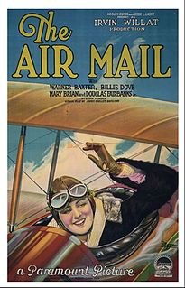 <i>The Air Mail</i> 1925 film by Irvin Willat