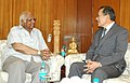 The Ambassador of Japan, Mr. Hideaki Domichi call on the Speaker, Lok Sabha, Shri Somnath Chatterjee, in New Delhi on March 28, 2008.jpg