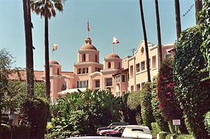 Beverly Hills, California - The Beverly Hills Hotel was the first substantial building project in what developed into Beverly Hills.