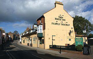 Brading Human settlement in England