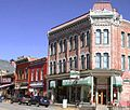 The Delaware Hotel on 700 Harrison Avenue in downtown Leadville, Colorado.jpg