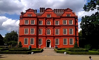 Kew Palace - The Dutch House, one of the few surviving parts of the Kew Palace complex