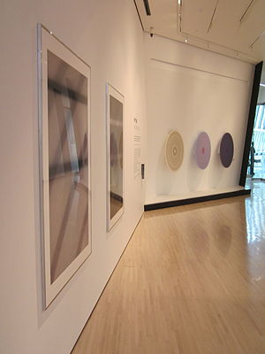 Eli and Edythe Broad Art Museum - One of the galleries.