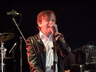 The Fall (band) - Mark E. Smith performing live, 2008