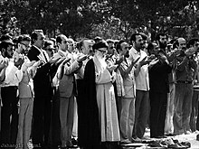 The First Friday Prayers in Tehran, leading by Ayotalloah Taleghani 2.jpg