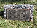 The Footstone of Hideyo Noguchi in Woodlawn Cemetery.JPG