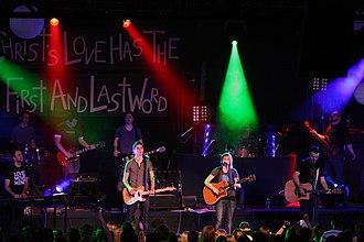 Toronto Blessing - Freshwind band leading worship at TACF in 2008.