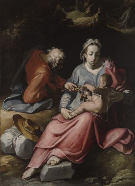 Αρχείο:The Holy Family by Cornelis van Haarlem 1590.jpeg