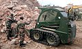 The Indian Army Engineers involved in the rescue operation, at Barpak, in Nepal on May 01, 2015.jpg