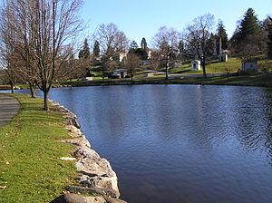 Kensico Cemetery - Mineola Lake