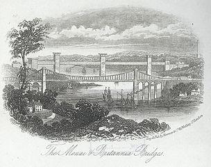The Menai & Britannia Bridges