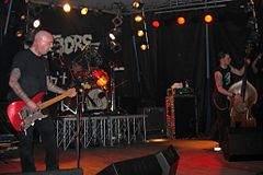 The Meteors live in Pordenone, Italy, 2006.jpg