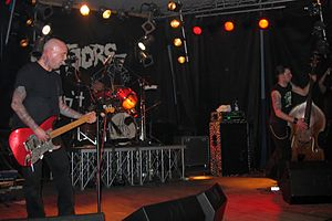 Psychobilly - The Meteors are considered the first definitive psychobilly band.