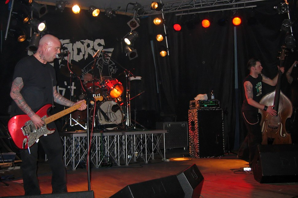 The Meteors live in Pordenone, Italy, 2006