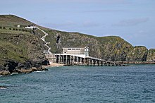 The old Padstow Lifeboat Station