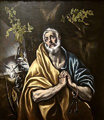 The Penitent Saint Peter