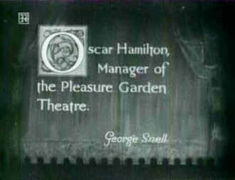 Intertitle - Intertitle in The Pleasure Garden (1925)
