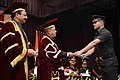 The President, Shri Pranab Mukherjee presented the degrees at the convocation ceremony of the passing out Engineering Graduate Courses of the College of Military Engineering, Pune, in Maharashtra (1).jpg