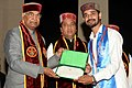 The President, Shri Ram Nath Kovind presenting the degrees, at the 9th Convocation of the Dr. Y.S. Parmar University of Horticulture and Forestry, in Solan, Himachal Pradesh.JPG