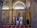 The Prime Minister, Shri Narendra Modi and the Prime Minister of Japan, Mr. Shinzo Abe visit the 'Sidi Saiyyid Ni Jaali', in Ahmedabad, Gujarat on September 13, 2017 (1).jpg