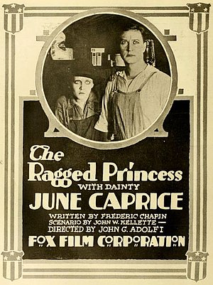 June Caprice - The Ragged Princess (1916)