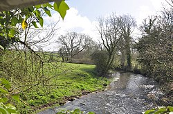 The River Thaw beside Howe Mill near The Herberts - Cowbridge - geograph.org.uk - 1235837.jpg