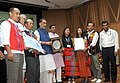 The Union Minister for Agriculture and Farmers Welfare, Shri Radha Mohan Singh presented the Plant Genome Savior Community Awards (2012-13), at a function, in New Delhi (2).jpg