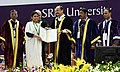The Vice President, Shri M. Venkaiah Naidu giving away degrees to the Students at the Special Convocation 2017 of SRM University, in Chennai (1).jpg