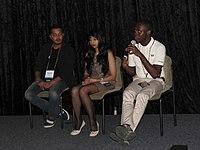 The Wikipedia Awareness Campaign Panel at Wikimania 2018 by Sam Oyeyele-1.jpg