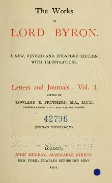The Works of Lord Byron (ed. Coleridge, Prothero) - Volume 8.djvu