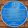 The Yorkshire College Blue Plaque.jpg