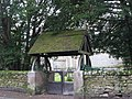 The lych gate of Holy Trinity Church, Whitfield - geograph.org.uk - 622578.jpg