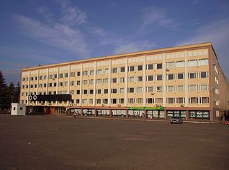 Yoshkar-Ola - Image: The main building of Mari state technical university