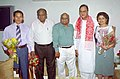 The members of the Indian Winter Olympics Team with the Union Minister for Youth Affairs & Sports, Shri Sunil Dutt in New Delhi on May 20, 2005.jpg