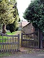The pathway to St Mary's Church, Huntington Lane, Hereford - geograph.org.uk - 10965.jpg