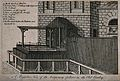 The temporary gallows in the Old Bailey, north of Newgate. E Wellcome V0041759.jpg