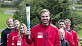 The torch together with parts of the Lillehammer 2016 team (21648692834).jpg