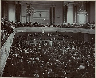 Basel - Second World Zionist Congress in Basel, 1898 (Stadtcasino)