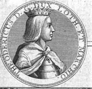 Theodoric II, Duke of Lorraine - Image: Theodoric II, Duke of Lorraine