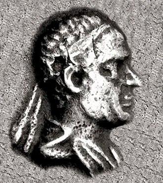 Theophilos (king) - Portrait of Theophilos