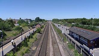 Thirsk railway station - Image: Thirsk railway station MMB 04