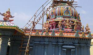 Thiruppaarththanpalli - Image of Thayar shrine